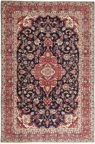 Hamadan Shahrbaf Patina Teppe 203X313 Ekte Orientalsk Håndknyttet Mørk Rød/Lysbrun (Ull, Persia/Iran)