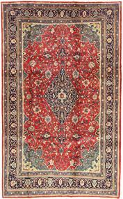 Arak Matta 200X325 Äkta Orientalisk Handknuten Mörkröd/Mörkbrun (Ull, Persien/Iran)