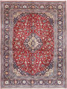 Keshan Rug 295X400 Authentic  Oriental Handknotted Light Purple/Light Grey Large (Wool, Persia/Iran)