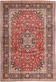 Keshan Rug 245X365 Authentic  Oriental Handknotted Brown/Dark Red (Wool, Persia/Iran)