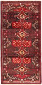 Beluch Matto 100X203 Itämainen Käsinsolmittu Tummanpunainen/Tummanruskea (Villa, Persia/Iran)