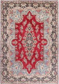 Yazd Rug 250X357 Authentic  Oriental Handknotted Light Pink/Light Grey Large (Wool, Persia/Iran)