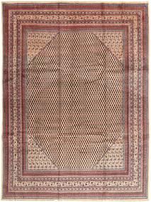 Sarouk Mir Rug 268X355 Authentic  Oriental Handknotted Light Brown/Light Pink Large (Wool, Persia/Iran)