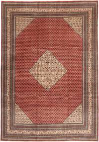 Sarouk Patina Rug 255X360 Authentic  Oriental Handknotted Dark Red/Brown Large (Wool, Persia/Iran)