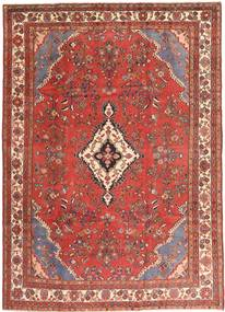 Hamadan Patina Rug 210X297 Authentic  Oriental Handknotted Brown/Dark Red (Wool, Persia/Iran)