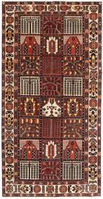Bakhtiar Patina Tappeto 154X305 Orientale Fatto A Mano Rosso Scuro/Marrone Scuro (Lana, Persia/Iran)