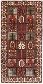 Bakhtiari Patina Rug 154X305 Authentic Oriental Handknotted Dark Red/Dark Brown (Wool, Persia/Iran)