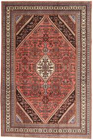 Hamadan Patina Rug 210X320 Authentic  Oriental Handknotted Dark Brown/Dark Red (Wool, Persia/Iran)