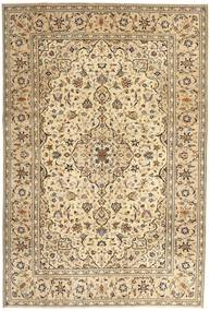 Keshan Patina Rug 200X293 Authentic  Oriental Handknotted Light Brown/Dark Beige (Wool, Persia/Iran)