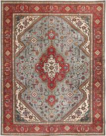 Tabriz Patina Rug 293X374 Authentic  Oriental Handknotted Light Brown/Light Grey Large (Wool, Persia/Iran)