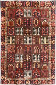 Bakhtiari Patina Rug 195X298 Authentic  Oriental Handknotted Dark Red/Dark Brown (Wool, Persia/Iran)