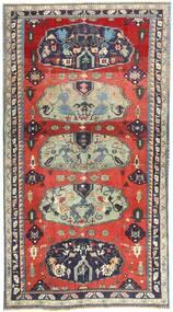 Tabriz Patina Matto 157X290 Itämainen Käsinsolmittu Vaaleanharmaa/Tummanvioletti (Villa, Persia/Iran)