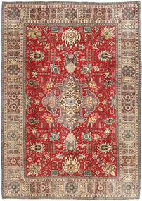 Tabriz Patina Rug 200X283 Authentic Oriental Handknotted Light Brown/Dark Red (Wool, Persia/Iran)