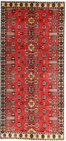 Qashqai Patina Rug 135X307 Authentic  Oriental Handknotted Hallway Runner  Rust Red/Dark Red (Wool, Persia/Iran)