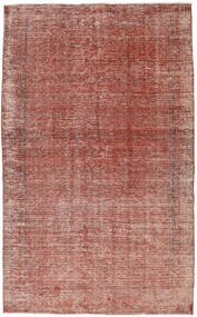 Colored Vintage Rug 158X260 Authentic  Modern Handknotted Brown/Light Pink (Wool, Turkey)