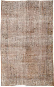 Colored Vintage Rug 161X260 Authentic  Modern Handknotted Light Brown/Light Grey (Wool, Turkey)