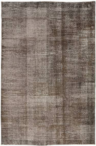 Colored Vintage Rug 197X300 Authentic  Modern Handknotted Brown/Light Grey (Wool, Turkey)