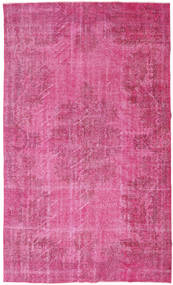 Colored Vintage Rug 170X280 Authentic  Modern Handknotted Pink (Wool, Turkey)