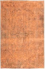 Colored Vintage Matto 193X295 Moderni Käsinsolmittu Oranssi/Vaaleanruskea/Tummanbeige (Villa, Persia/Iran)