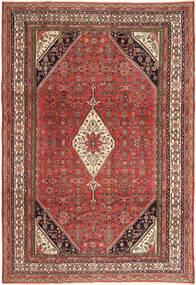Hamadan Patina Matta 210X308 Äkta Orientalisk Handknuten Mörkröd/Mörkbrun (Ull, Persien/Iran)