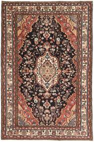Hamadan Patina Rug 190X296 Authentic Oriental Handknotted Light Brown/Dark Red (Wool, Persia/Iran)