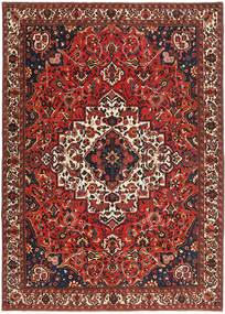 Bakhtiari Patina Rug 255X357 Authentic Oriental Handknotted Dark Red/Dark Brown Large (Wool, Persia/Iran)