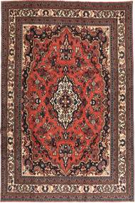 Hamadan Patina Rug 210X312 Authentic  Oriental Handknotted Dark Red/Dark Brown (Wool, Persia/Iran)