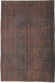 Colored Vintage Rug 168X255 Authentic  Modern Handknotted Light Brown/Dark Brown (Wool, Turkey)