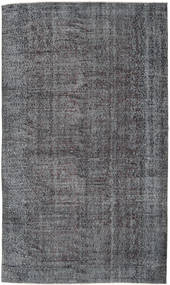Colored Vintage Rug 169X288 Authentic  Modern Handknotted Dark Grey/Light Grey (Wool, Turkey)