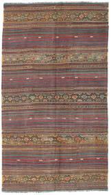 Kilim Törökország Szőnyeg 155X276 Keleti Kézi Szövésű Világosbarna/Barna (Gyapjú, Törökország)