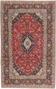 Keshan Patina Rug 205X327 Authentic  Oriental Handknotted Dark Red/Light Brown (Wool, Persia/Iran)