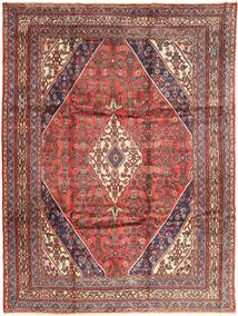 Hamadan Rug 256X348 Authentic  Oriental Handknotted Light Brown/Dark Red Large (Wool, Persia/Iran)