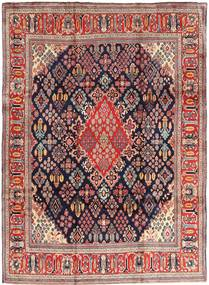 Arak Rug 237X325 Authentic  Oriental Handknotted Dark Purple/Rust Red (Wool, Persia/Iran)