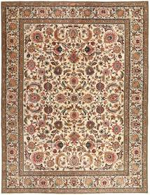 Tabriz Patina Rug 293X385 Authentic  Oriental Handknotted Brown/Light Brown Large (Wool, Persia/Iran)
