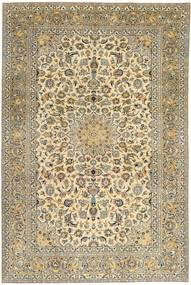 Keshan Patina Rug 230X343 Authentic  Oriental Handknotted Light Brown/Dark Grey (Wool, Persia/Iran)
