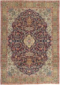 Najafabad Patina Rug 240X344 Authentic Oriental Handknotted Light Brown/Dark Brown (Wool, Persia/Iran)