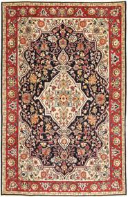 Tabriz Patina Matto 192X303 Itämainen Käsinsolmittu Vaaleanruskea/Tummanruskea (Villa, Persia/Iran)