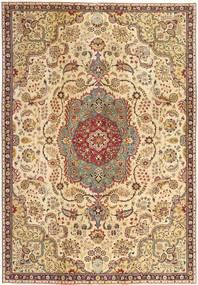 Tabriz Patina Tapis 228X335 D'orient Fait Main Marron Clair/Beige Foncé (Laine, Perse/Iran)