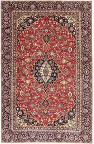 Keshan Patina Teppe 187X290 Ekte Orientalsk Håndknyttet Mørk Rød/Lysbrun (Ull, Persia/Iran)