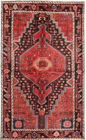 Hamadan Patina Dywan 140X235 Orientalny Tkany Ręcznie Ciemnoczerwony/Brązowy (Wełna, Persja/Iran)