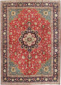 Tabriz Patina Rug 290X397 Authentic  Oriental Handknotted Dark Red/Dark Brown Large (Wool, Persia/Iran)
