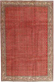 Arak Patina Teppe 210X320 Ekte Orientalsk Håndknyttet Mørk Rød/Rust (Ull, Persia/Iran)