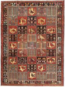 Bakhtiar Patina Matto 220X300 Itämainen Käsinsolmittu Tummanruskea/Ruskea (Villa, Persia/Iran)