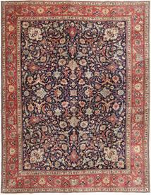 Tabriz Patina Teppe 302X393 Ekte Orientalsk Håndknyttet Lysbrun/Mørk Rød Stort (Ull, Persia/Iran)