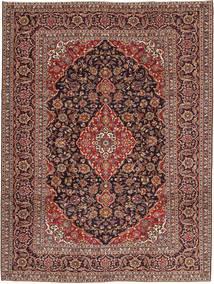 Keshan Patina Matta 250X338 Äkta Orientalisk Handknuten Ljusbrun/Mörkbrun Stor (Ull, Persien/Iran)