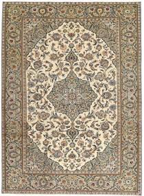 Keshan Patina Rug 230X325 Authentic Oriental Handknotted Light Brown/Beige (Wool, Persia/Iran)