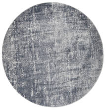 Scout - Mixed Grey Rug Ø 200 Modern Round Light Blue/Dark Grey/Light Grey ( Turkey)