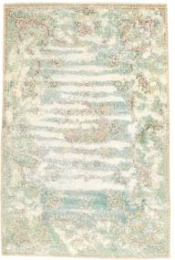 Vintage Rug 103X155 Authentic  Modern Handknotted Beige/White/Creme (Wool, Persia/Iran)