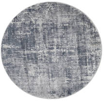 Scout - Mixed Grey Rug Ø 150 Modern Round Light Grey/Dark Grey ( Turkey)