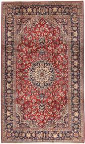 Najafabad Teppe 202X340 Ekte Orientalsk Håndknyttet Mørk Rød/Mørk Brun (Ull, Persia/Iran)